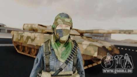 Somalia Militia Woodland Camo pour GTA San Andreas