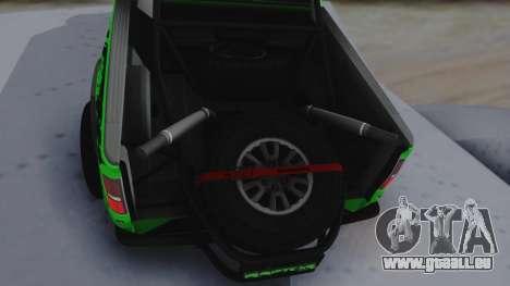 Ford F-150 SVT Raptor 2012 pour GTA San Andreas vue arrière