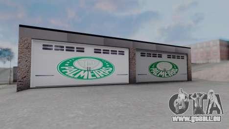 New Garage in San Fierro für GTA San Andreas her Screenshot