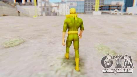 Marvel Future Fight - Iron Fist pour GTA San Andreas troisième écran