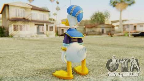 Kingdom Hearts 2 Donald Duck Default v1 pour GTA San Andreas troisième écran