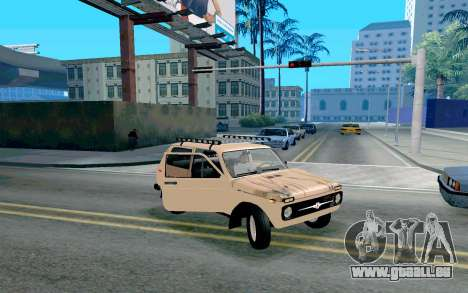 VAZ Niva pour GTA San Andreas vue de côté