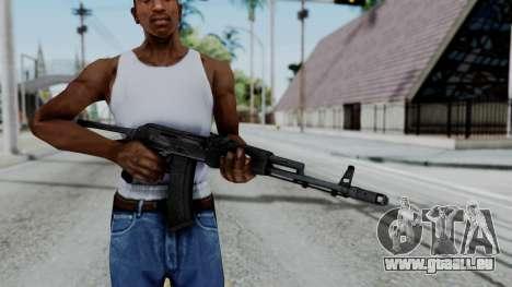 AKS-47 pour GTA San Andreas troisième écran