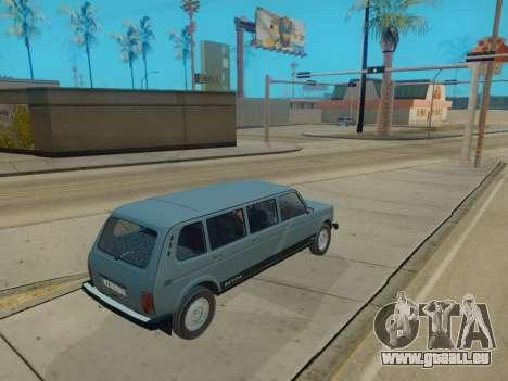 ВАЗ 2131 7-porte [HQ Version] pour GTA San Andreas vue arrière