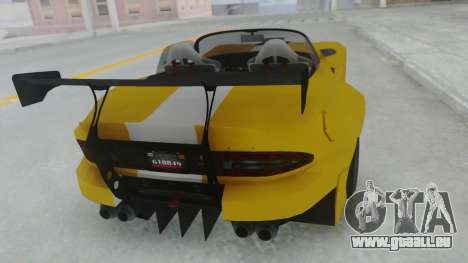 GTA 5 Bravado Banshee 900R Tuned für GTA San Andreas linke Ansicht
