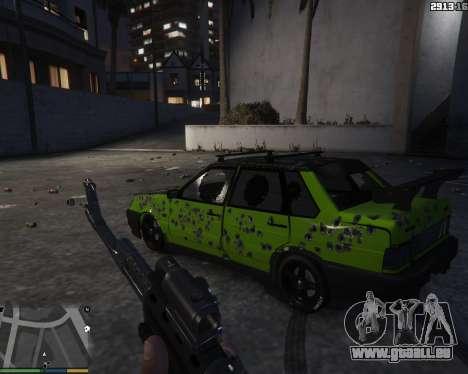 GTA 5 VAZ 2115 vue arrière