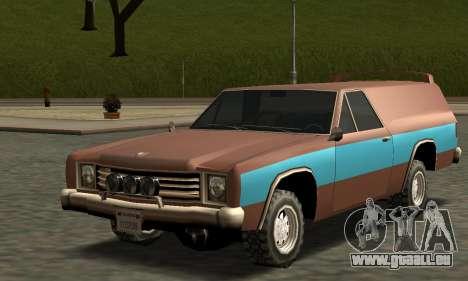 Picador Vagon Extreme pour GTA San Andreas