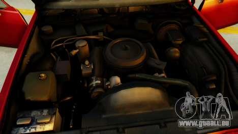 Chevrolet Impala 1984 pour GTA San Andreas vue de dessus