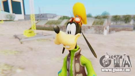 Kingdom Hearts 2 Goofy Default für GTA San Andreas