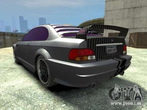 Sentinel CARBON v1.0 pour GTA 4 Vue arrière de la gauche