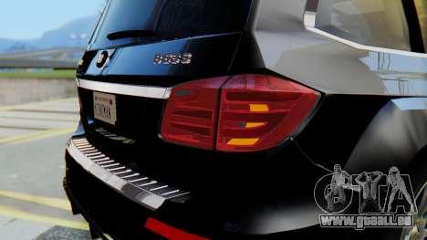Brabus B63S pour GTA San Andreas salon