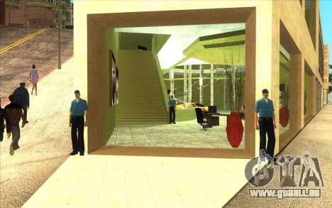 La reprise de la concession de voitures Ottos au pour GTA San Andreas deuxième écran