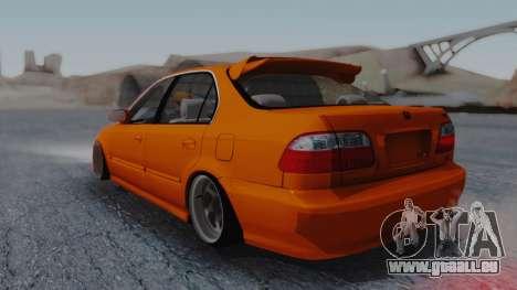 Honda Civic EG Ferio pour GTA San Andreas laissé vue