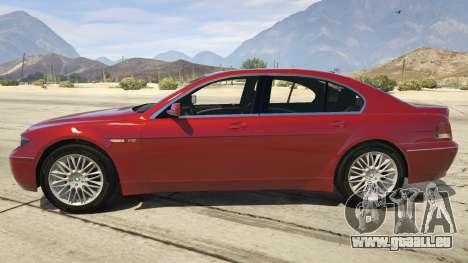 GTA 5 BMW 760i E65 linke Seitenansicht