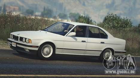 GTA 5 BMW 535i E34 linke Seitenansicht