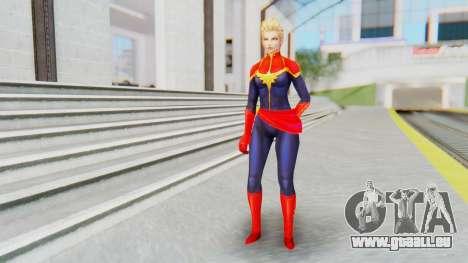 Marvel Future Fight - Captain Marvel pour GTA San Andreas deuxième écran