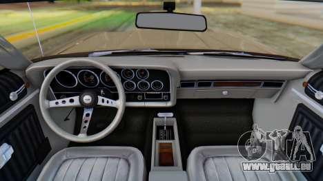 Ford Gran Torino Sport SportsRoof (63R) 1972 PJ2 pour GTA San Andreas vue de droite