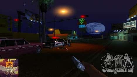 La première personne de la v3.0 pour GTA San Andreas septième écran