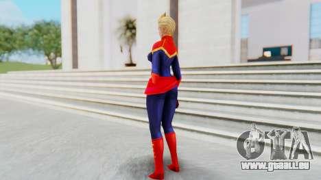 Marvel Future Fight - Captain Marvel pour GTA San Andreas troisième écran