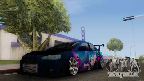 Mitsubishi Lancer X by Venceslav Sexy pour GTA San Andreas
