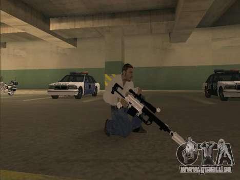 Silent Aim v6.0 pour GTA San Andreas deuxième écran