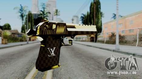 Deagle Louis Vuitton Version pour GTA San Andreas deuxième écran