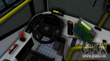 Mercedes-Benz 1718L-SB Linea 148 pour GTA San Andreas vue intérieure