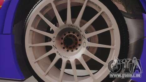 Audi A4 2008 DTM pour GTA San Andreas vue arrière
