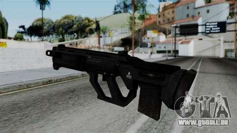 CoD Black Ops 2 - SMR pour GTA San Andreas deuxième écran