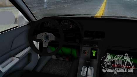 Mitsubishi Lancer pour GTA San Andreas vue de droite