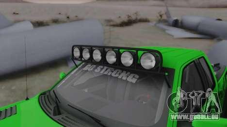 Ford F-150 SVT Raptor 2012 pour GTA San Andreas vue intérieure