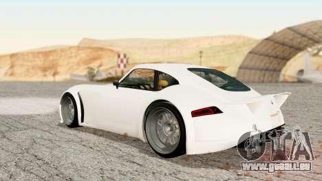 GTA 5 Bravado Verlierer Stock pour GTA San Andreas laissé vue