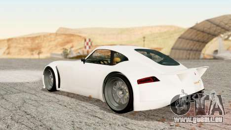 GTA 5 Bravado Verlierer Stock für GTA San Andreas linke Ansicht