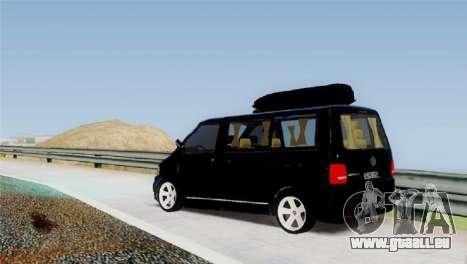 Volkswagen bus By.Snebes pour GTA San Andreas sur la vue arrière gauche