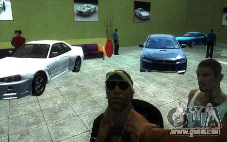 Die Wiederbelebung von Autohaus Ottos autos für GTA San Andreas her Screenshot