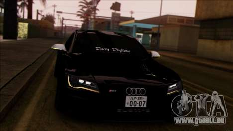 Audi RS7 Daily Drifters pour GTA San Andreas