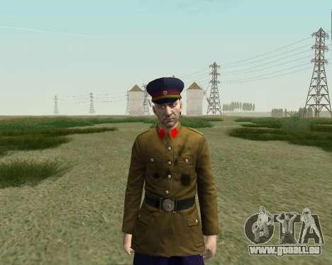 La collection de Soldats de l'armée rouge pour GTA San Andreas huitième écran