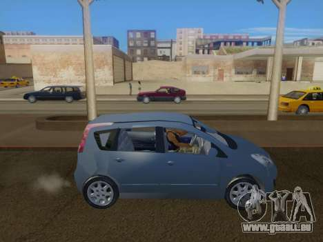 Nissan Note v1.0 Final für GTA San Andreas linke Ansicht