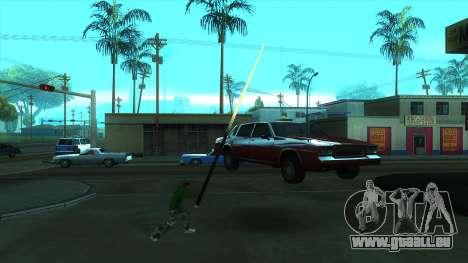 Cleo Mod San Andreas pour GTA San Andreas troisième écran