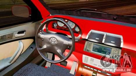 Toyota Avanza Best Modification für GTA San Andreas rechten Ansicht