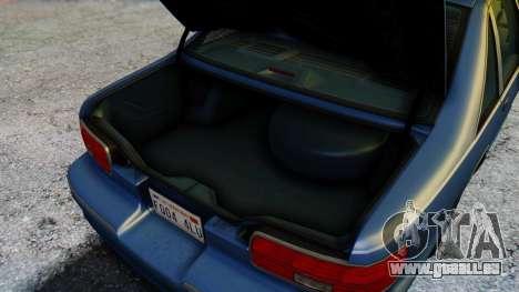 Chevrolet Caprice 1993 pour GTA San Andreas vue de dessus