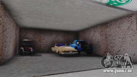 New Garage in San Fierro für GTA San Andreas fünften Screenshot
