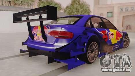Audi A4 2008 DTM für GTA San Andreas linke Ansicht