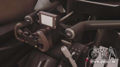 Audi A4 2008 DTM pour GTA San Andreas vue intérieure