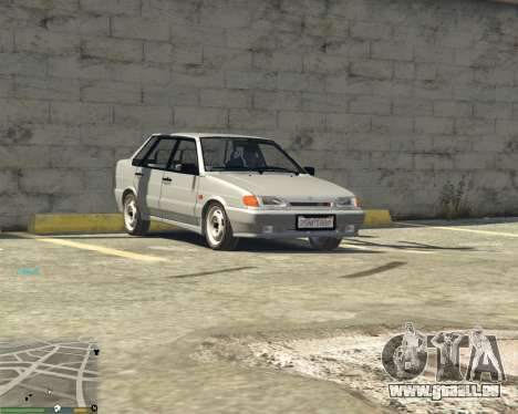 VAZ 2115 pour GTA 5
