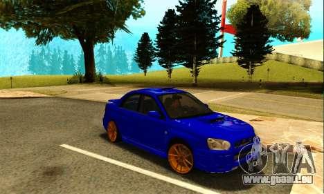 Subaru Impreza WRX STI Spec-C pour GTA San Andreas