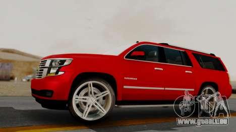 Chevrolet Suburban 2015 LTZ für GTA San Andreas