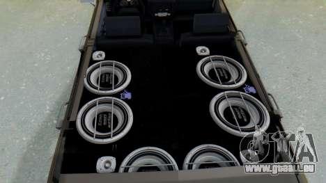 Peykan 80 Spyder pour GTA San Andreas vue arrière