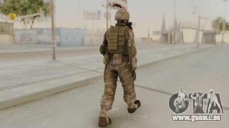 US Army Urban Soldier Gas Mask from Alpha Protoc pour GTA San Andreas troisième écran