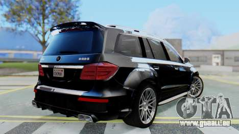 Brabus B63S pour GTA San Andreas laissé vue